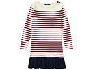 Polo Ralph Lauren Kids Striped Cotton Jersey Dress (Little Kids/Big Kids)
