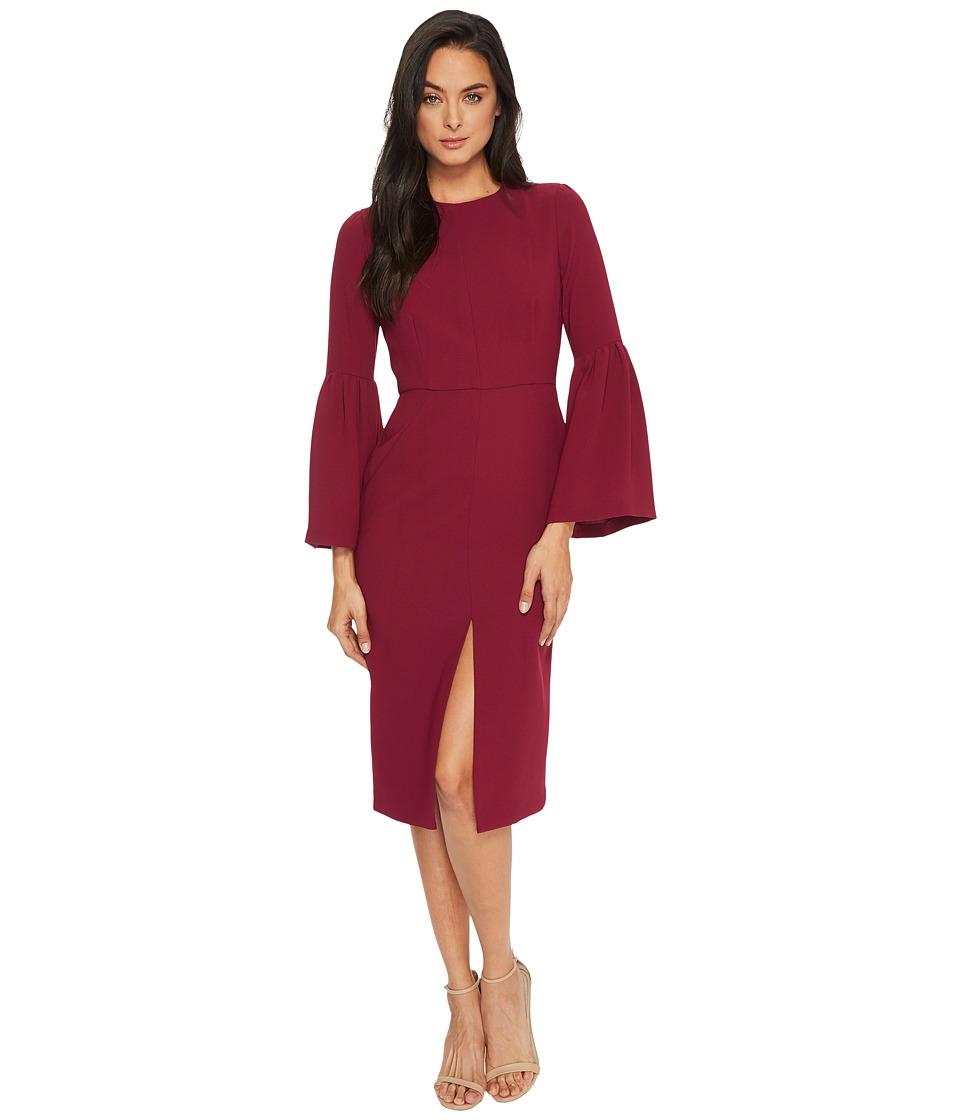 JILL JILL STUART - Bell-Sleeve Tea-Length Dress