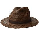 San Diego Hat Company Raffia Braid w/ Grosgrain Fedora
