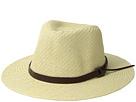 San Diego Hat Company Cut Sew Paper Fedora w/ Faux Leather Band
