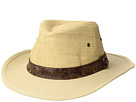 San Diego Hat Company Raffia Crown w/ Canvas Brim