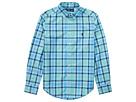 Polo Ralph Lauren Kids Plaid Cotton Poplin Shirt (Big Kids)