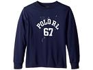 Polo Ralph Lauren Kids Cotton Jersey Graphic T-Shirt (Big Kids)