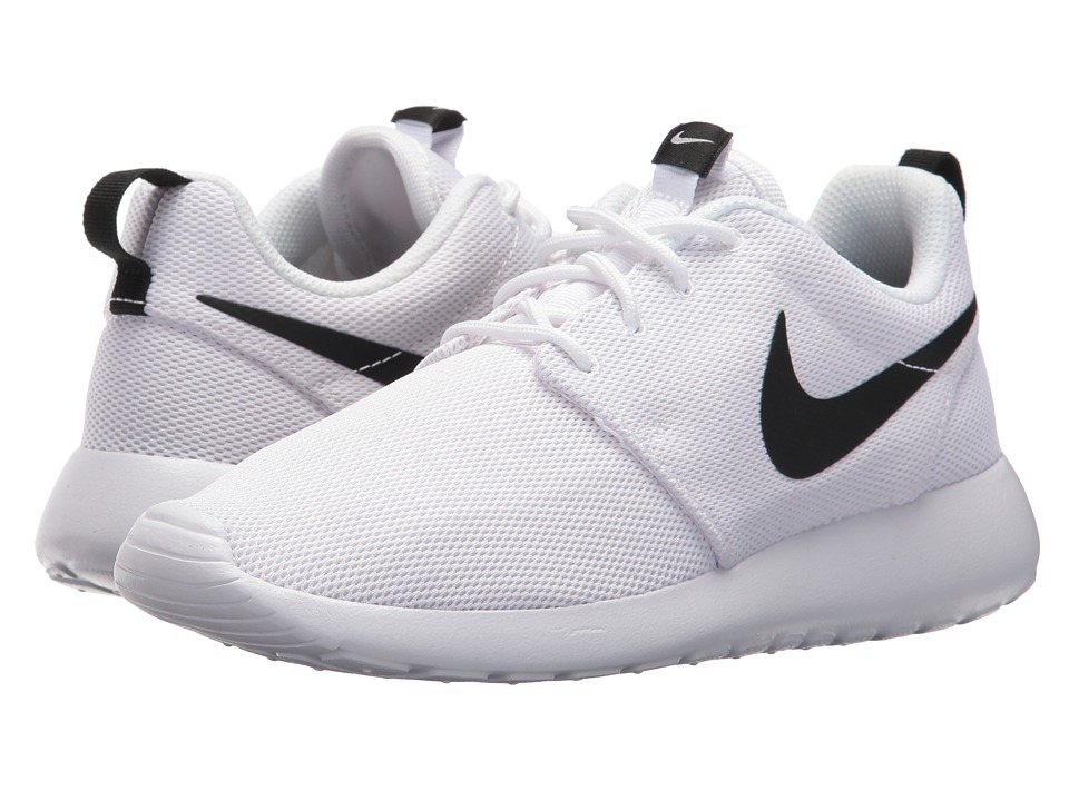 Nike Roshe One (White/White/Black) Women's Shoes