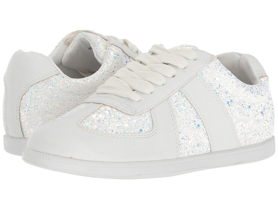 Dolce Vita Kids - Mosie (Little Kid/Big Kid) (White Glitter) Girls Shoes