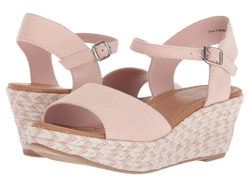 Dolce Vita Kids - Wendy (Little Kid/Big Kid) (Blush Microsuede) Girls Shoes