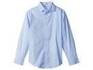 Calvin Klein Kids Check Print Long Sleeve Shirt (Big Kids)