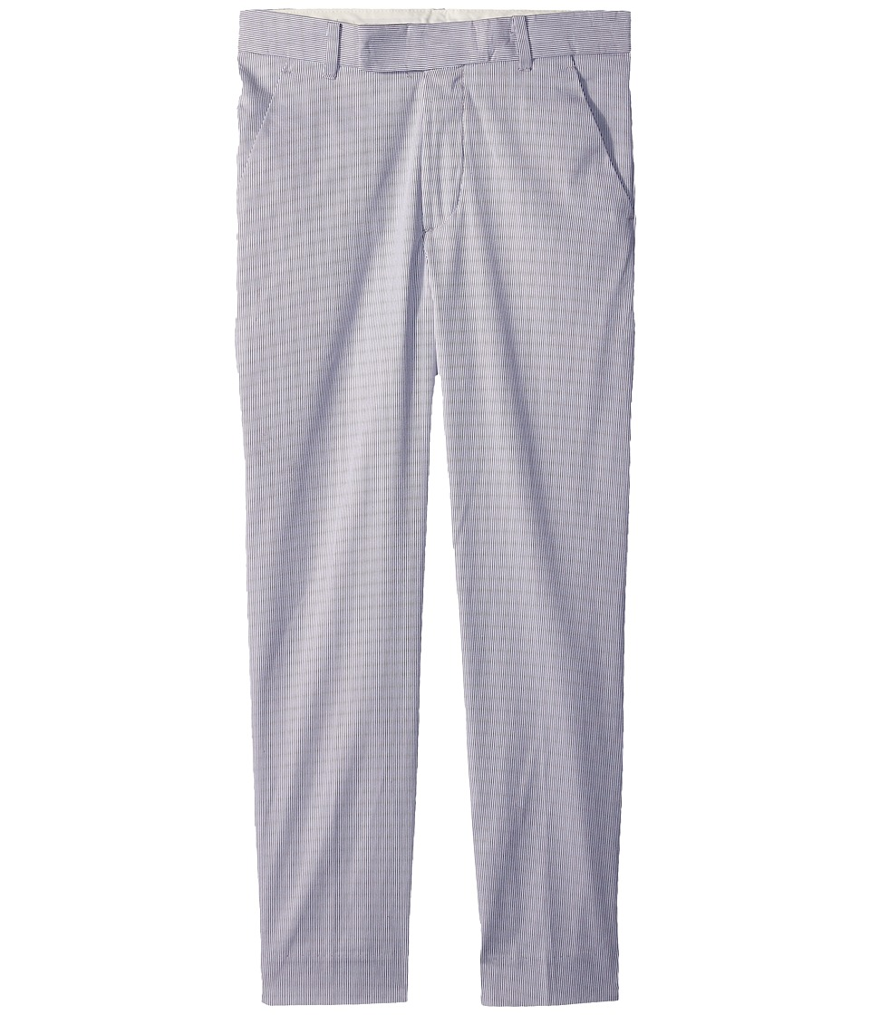 Calvin Klein Kids - Pincord Pants (Big Kids) (Silver) Boys Casual Pants