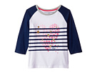 Tommy Hilfiger Kids Stripe Heart Tee (Big Kids)