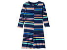 Tommy Hilfiger Kids Yarn-Dye Multi-Stripe Split Dress (Big Kids)