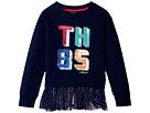 Tommy Hilfiger Kids TH85 Mixed Media Top (Big Kids)