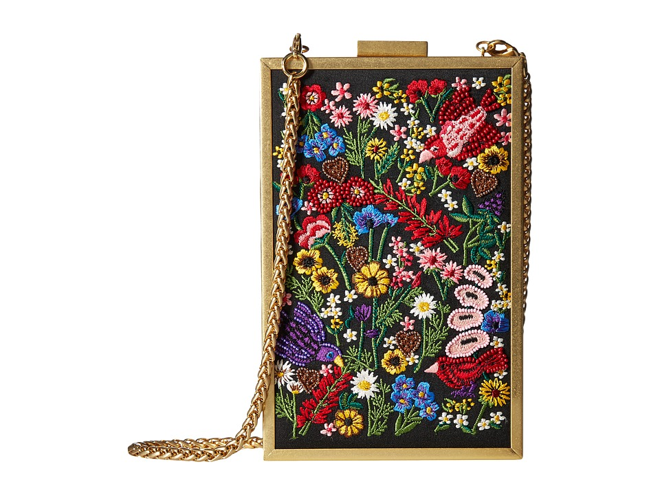 Alice + Olivia - Sophia Flower Party North/South Clutch