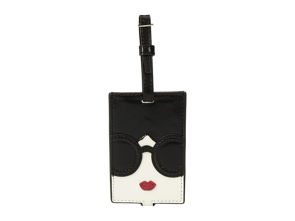 Image of Alice + Olivia - Bibi Stace Face Luggage Tag (Multi) Wallet