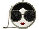 Alice + Olivia Bonita Stace Face Circular Clutch