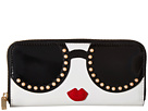 Alice + Olivia Alice + Olivia Candice Stace Face Pearl Long Wallet