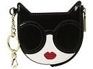 Alice + Olivia Alice + Olivia Evy Stace Cat Zip Pouch with Key Charm