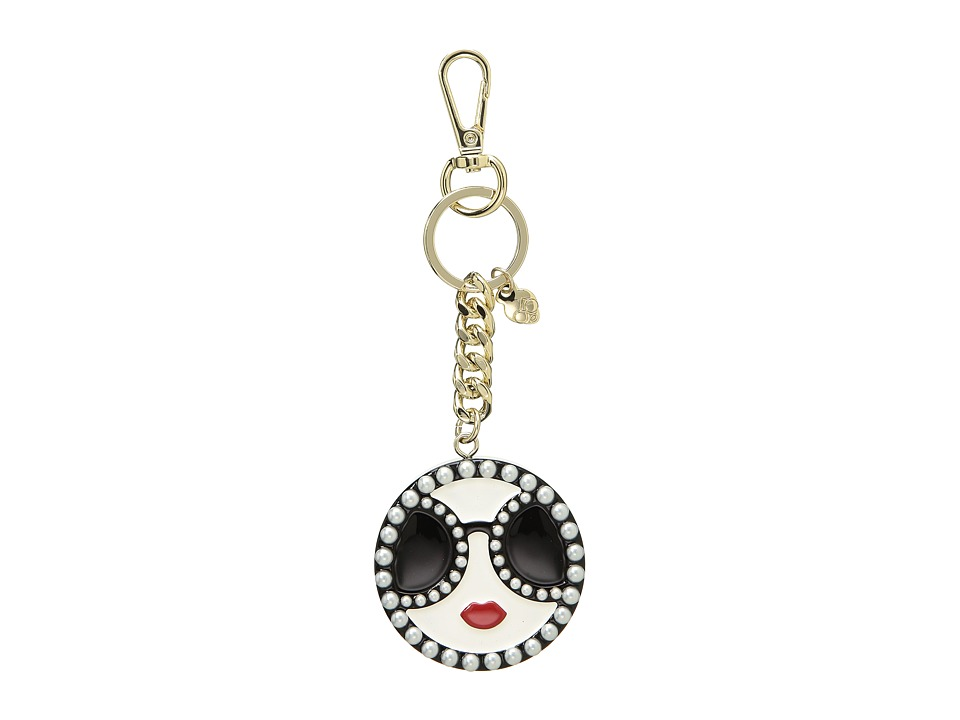 Alice + Olivia - Stace Face Pearls Key Charm