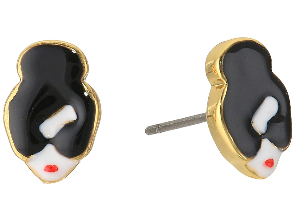 Alice + Olivia - Stace Face Earrings