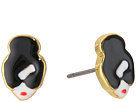 Alice + Olivia Stace Face Earrings