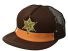 San Diego Hat Company Kids Sheriff Trucker (Little Kids/Big Kids)