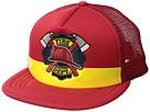 San Diego Hat Company Kids Fire Dept. Trucker (Little Kids/Big Kids)