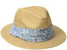 San Diego Hat Company Kids Paper Fedora w/ Paisley Band (Little Kids/Big Kids)