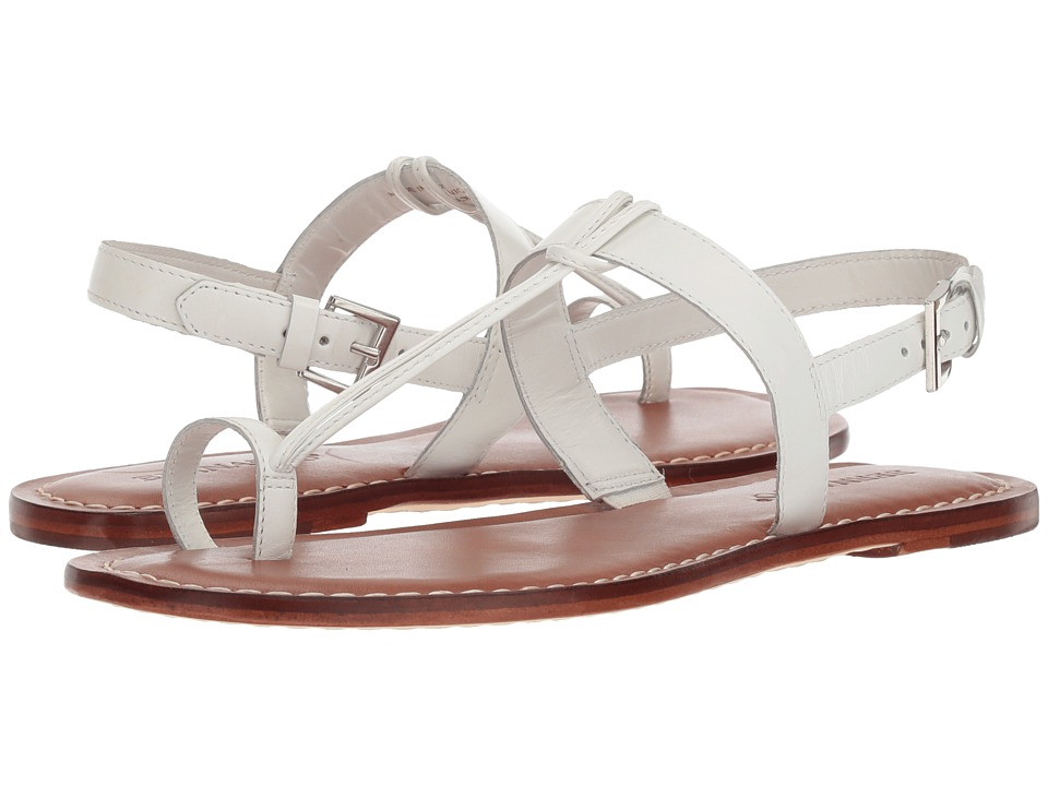 Bernardo Maverick (White Antique Calf) Sandals
