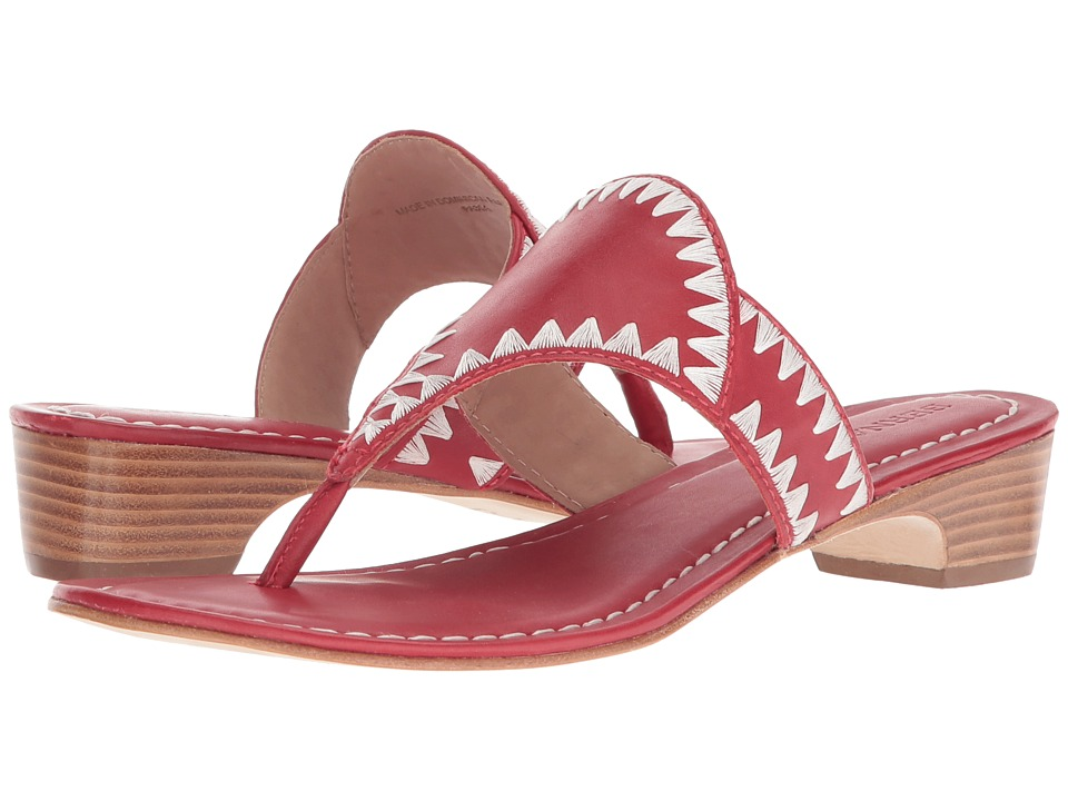 Bernardo Gabi Sandal (Red Antique Calf) Women's Shoes