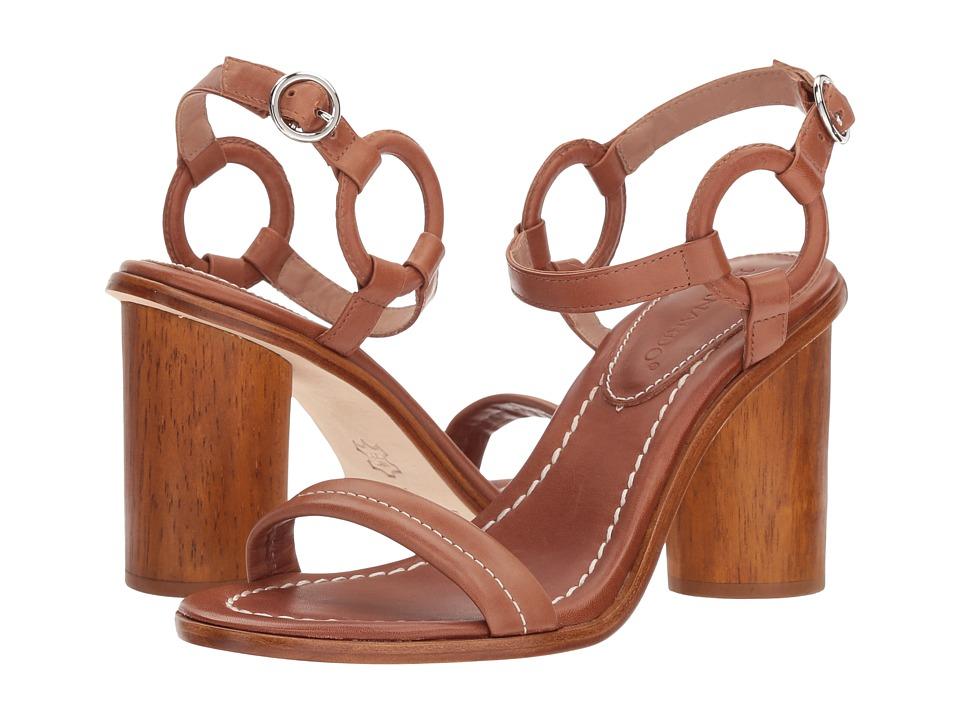 Bernardo Harlow (Luggage Antique Calf) High Heels