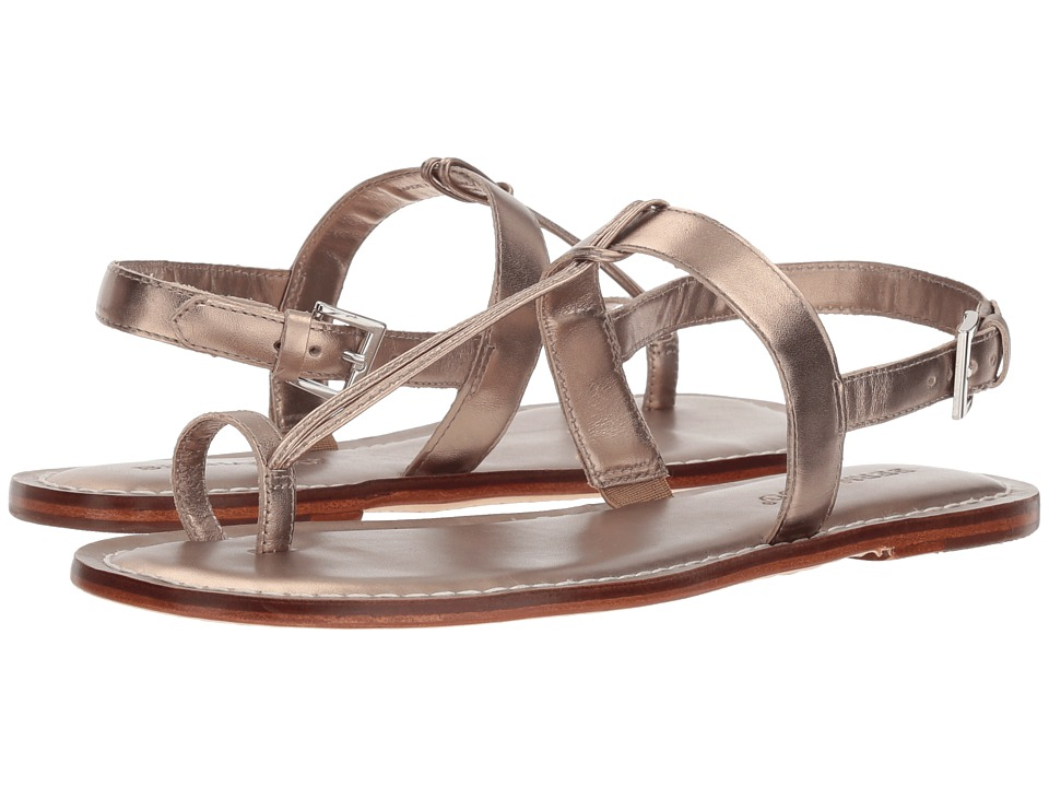 Bernardo Maverick (Platinum Antique Calf) Sandals