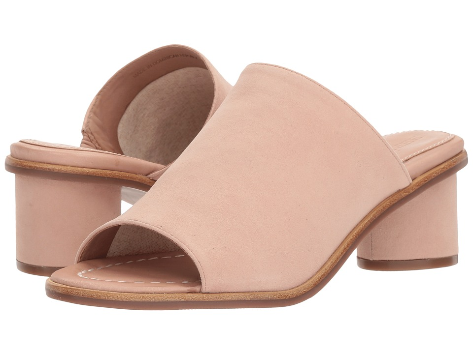 Bernardo Laurel (Blush Kid Suede) Slides