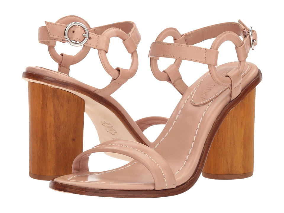Bernardo - Harlow (Blush Antique Calf) High Heels