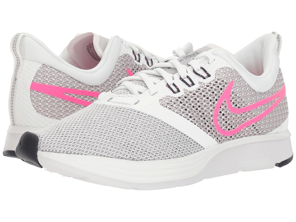 Nike Zoom Strike (Summit White/Pink Blast/Vast Grey) Women's Shoes