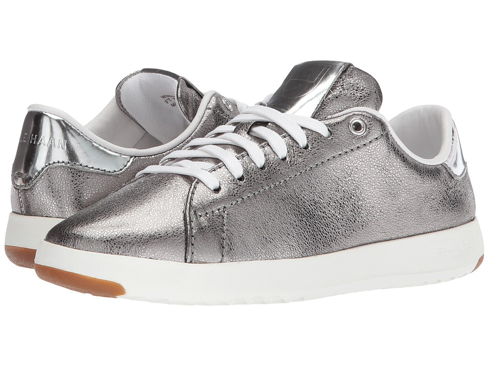 Cole Haan Grandpro Tennis (Anthracite Glitter Metallic/Gunmetal/Optic White) Women