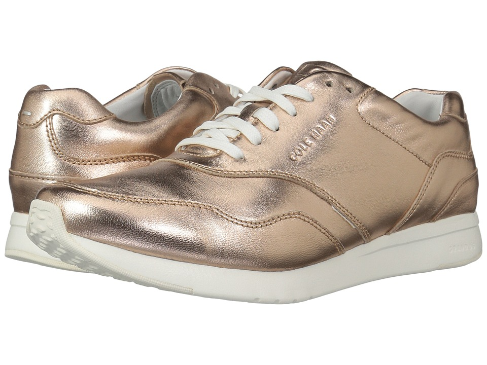 Cole Haan Grandpro Runner (Metallic Rose Gold) Women