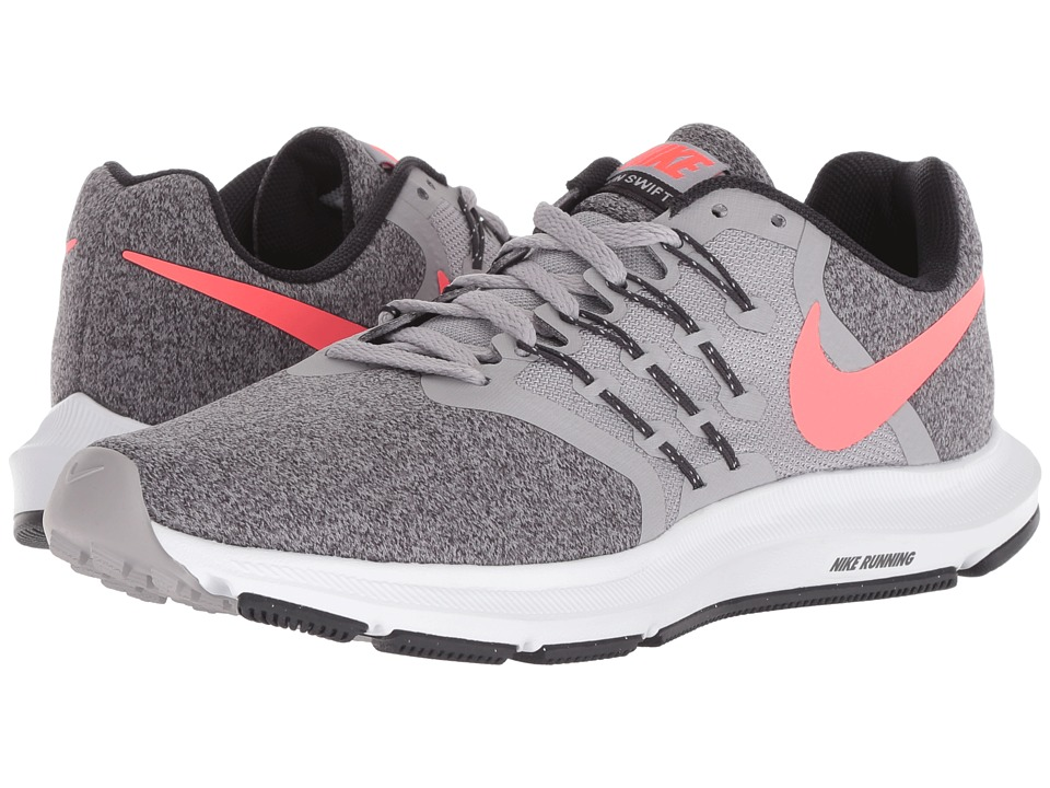 Nike Run Swift (Atmosphere Grey/Flash Crimson/Oil Grey) Women's Running Shoes