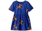 mini rodini Donkey Woven Dress (Infant/Toddler/Little Kids/Big Kids)