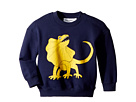 mini rodini Draco Solid Print Sweatshirt (Infant/Toddler/Little Kids/Big Kids)