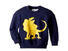 mini rodini Draco Solid Print Sweatshirt (Infant/Toddler/Little Kids/Big Kids)