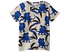 mini rodini Draco Short Sleeve T-Shirt (Infant/Toddler/Little Kids/Big Kids)