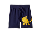 mini rodini Draco Sweatshorts (Infant/Toddler/Little Kids/Big Kids)