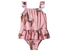mini rodini Horse Skirt Swimsuit (Infant/Toddler/Little Kids/Big Kids)