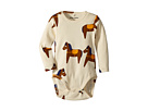 mini rodini Horse Long Sleeve Bodysuit (Infant)