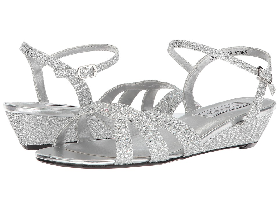 Touch Ups Lena (Silver) Women's Shoes