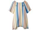 Chloe Kids Mini Me Couture Dress Rainbow Striped (Big Kids)