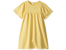 Chloe Kids Milano Short Sleeve Dress with Percale Details (Big Kids)