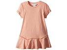 Chloe Kids Jersey Essential Short Sleeve Dress (Toddler/Little Kids)