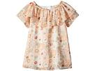 Chloe Kids Flower Print Ruffle Dress (Toddler/Little Kids)