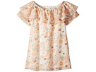 Chloe Kids Flower Print Ruffle Dress (Little Kids/Big Kids)