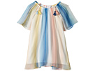 Chloe Kids Mini Me Couture Dress Rainbow Striped (Toddler/Little Kids)